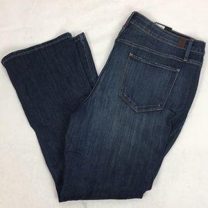 Simply Vera Bootcut Mid Rise Denim Blue Jeans New